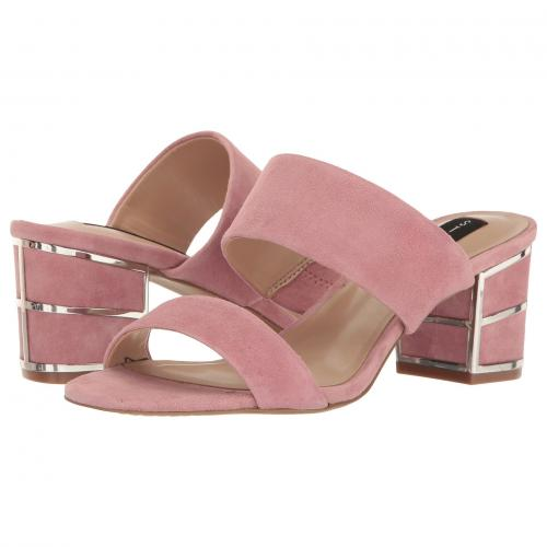 ピンク スエード スウェード レディース 女性用 靴 ミュール レディース靴 【 PINK STEVEN SIGGY SUEDE 】