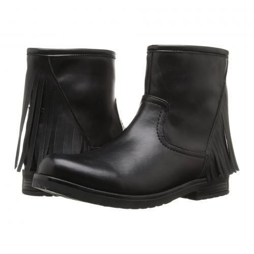 サイドウェイズ ショーツ ハーフパンツ 黒 ブラック 子供用 リトルキッズ ベビー マタニティ ブーツ キッズ 靴 【 BLACK PAZITOS SIDEWAYS SHORT BOOTIE PU 】