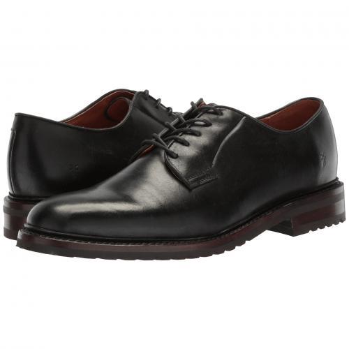 フライ ジョーンズ オックスフォード 黒 ブラック ウォータープルーフ 防水 スムース プル アップ メンズ 男性用 メンズ靴 ビジネスシューズ 靴 【 BLACK FRYE JONES OXFORD WATERPROOF SMOOTH PULL UP 】