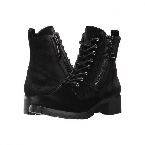 ドルチェ ヴィータ 黒 ブラック ベルベット レディース 女性用 靴 ブーツ レディース靴 【 BLACK DOLCE VITA PAZA VELVET 】