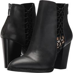 クリスティン 黒 ブラック レザー レディース 女性用 靴 ブーティ レディース靴 【 BLACK KRISTIN CAVALLARI NASHVILLE BOOTIE LEATHER 】