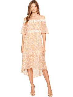 ラベル ドレス ワンピース フローラル レディース 女性用 レディースファッション 【 ASTR THE LABEL SIMONE DRESS PINK AMBER FLORAL 】