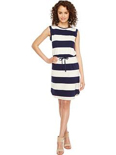 Tシャツ ドレス ワンピース 紺 ネイビー レディース 女性用 レディースファッション 【 NAVY SPLENDID CINCH TEE DRESS 】