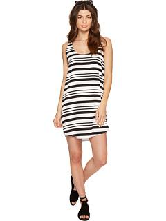 ダコタ ストライプ シフト ドレス ワンピース オプティック 白 ホワイト レディース 女性用 レディースファッション 【 BB DAKOTA ROWLAND STRIPED SHIFT DRESS OPTIC WHITE 】