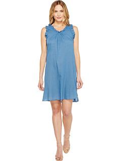 ドレス ワンピース ニュー 青 ブルー レディース 女性用 レディースファッション 【 BLUE AG ADRIANO GOLDSCHMIED DIXIE DRESS NEW 】