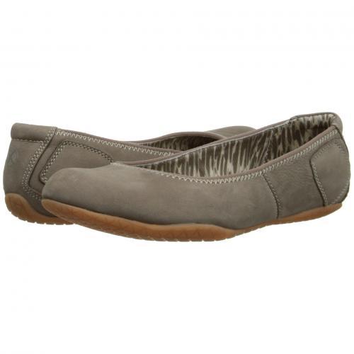 ヌバック レディース 女性用 レディース靴 カジュアルシューズ 靴 【 HUSH PUPPIES ZION TOLI TAUPE NUBUCK 】