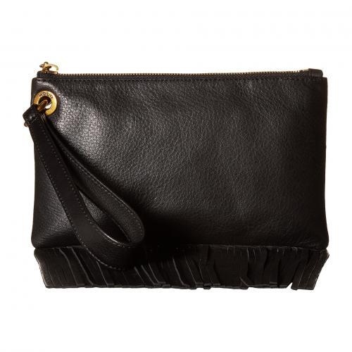 ホーボー 黒 ブラック レディース 女性用 バッグ レディースバッグ ハンドバッグ ブランド雑貨 小物 【 BLACK HOBO FLUTTER 】