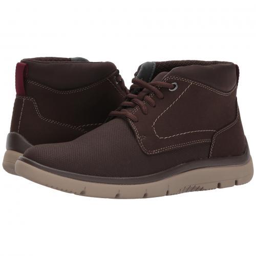クラークス ミッド 茶 ブラウン メンズ 男性用 メンズ靴 靴 ブーツ 【 CLARKS TUNSIL MID BROWN 】