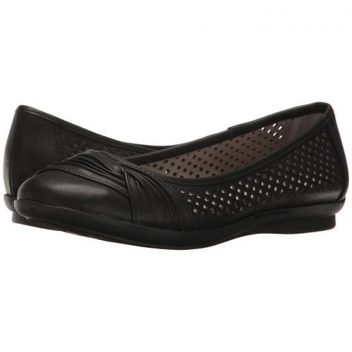 白 ホワイト マウンテン 黒 ブラック レディース 女性用 靴 レディース靴 カジュアルシューズ 【 BLACK WHITE MOUNTAIN HARLYN 】