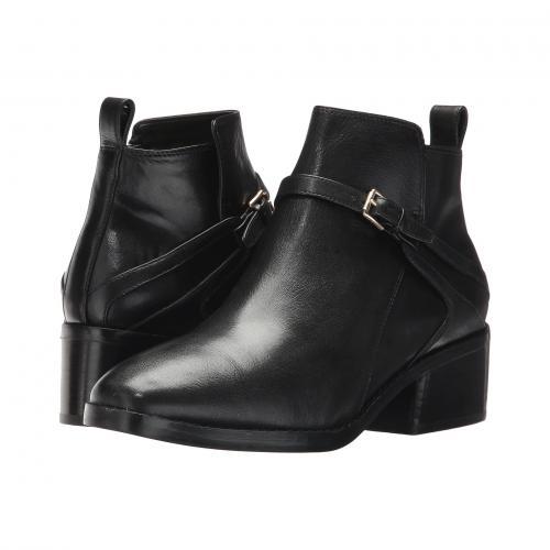コール エタ 黒 ブラック レザー レディース 女性用 レディース靴 靴 ブーティ 【 BLACK COLE HAAN ETTA BOOTIE II LEATHER 】