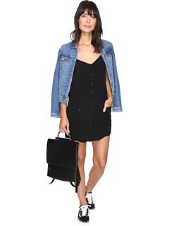 オベイ ジンクス ドレス ワンピース 黒 ブラック レディース 女性用 レディースファッション 【 BLACK OBEY JINX DRESS 】