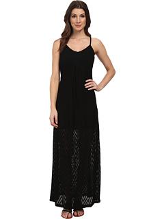 カルバン クライン スリップ ストラップ マキシ ドレス ワンピース 黒 ブラック レディース 女性用 レディースファッション 【 BLACK CALVIN KLEIN SLIP STRAP MAXI DRESS 】