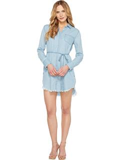 プリンス ドレス ワンピース ミッド レディース 女性用 レディースファッション 【 DL1961 PRINCE MOTT DRESS MID WASH CHAMBRAY 】