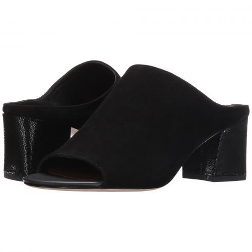 エリス 黒 ブラック キッド スエード スウェード レディース 女性用 レディース靴 サンダル 靴 【 BLACK DONALD J PLINER ELLIS KID SUEDE 】