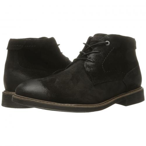 クラシック ブレーク チャッカ 黒 ブラック スエード スウェード メンズ 男性用 ブーツ 靴 メンズ靴 【 BLACK ROCKPORT CLASSIC BREAK CHUKKA SUEDE 】