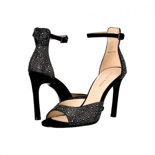 モーダ エリカ 黒 ブラック スエード スウェード レディース 女性用 靴 サンダル レディース靴 【 BLACK PELLE MODA ERICA SUEDE 】