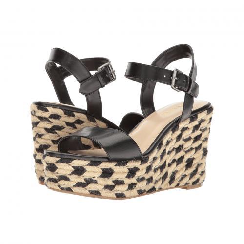 ナイン ウェスト 黒 ブラック レディース 女性用 サンダル 靴 レディース靴 【 BLACK NINE WEST DOITRIGHT PU 】