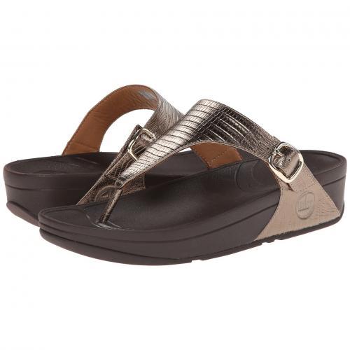 銅 ブロンズ SKINNY レディース 女性用 レディース靴 ミュール 靴 【 FITFLOP THE BRONZE 】