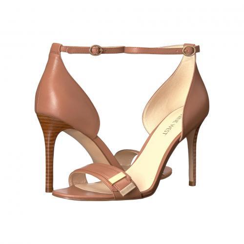ナイン ウェスト ダーク ナチュラル レザー レディース 女性用 靴 ミュール レディース靴 【 NINE WEST MATTEO DARK NATURAL LEATHER 】