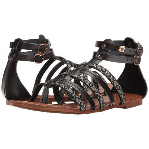 ロキシー 黒 ブラック レディース 女性用 レディース靴 靴 ミュール 【 ROXY BLACK EMILIA 】