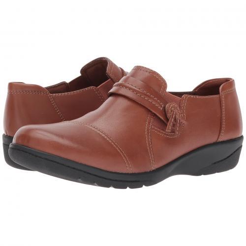 クラークス ダーク タン レディース 女性用 カジュアルシューズ 靴 レディース靴 【 CLARKS CHEYN MADI DARK TAN 】