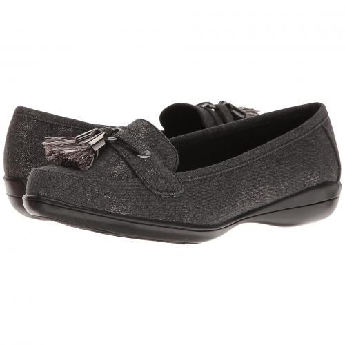 ソフト スタイル デニス ウォッシュ 黒 ブラック デニム レディース 女性用 カジュアルシューズ レディース靴 靴 【 BLACK SOFT STYLE DENISE WASHED DENIM 】