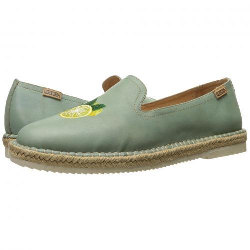 緑 グリーン レディース 女性用 レディース靴 靴 カジュアルシューズ 【 GREEN PIKOLINOS CADAMUNT W3K3633CR 】