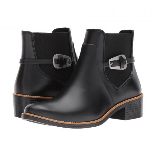 レイン 黒 ブラック レディース 女性用 靴 ブーツ レインシューズ レディース靴 【 BLACK BERNARDO PANSIE RAIN 】