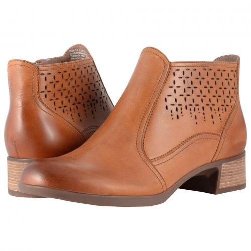 リバティー サドル ナッパ レディース 女性用 ブーツ レディース靴 靴 【 DANSKO LIBERTY SADDLE BURNISHED NAPPA 】