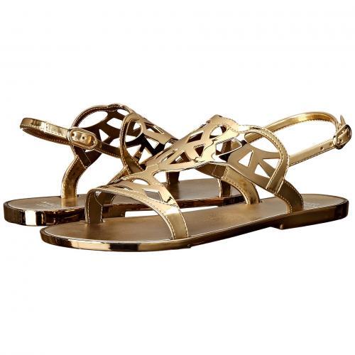 ゴールド 金 ゼリー レディース 女性用 レディース靴 靴 ミュール 【 STUART WEITZMAN GELFISHER GOLD JELLY 】