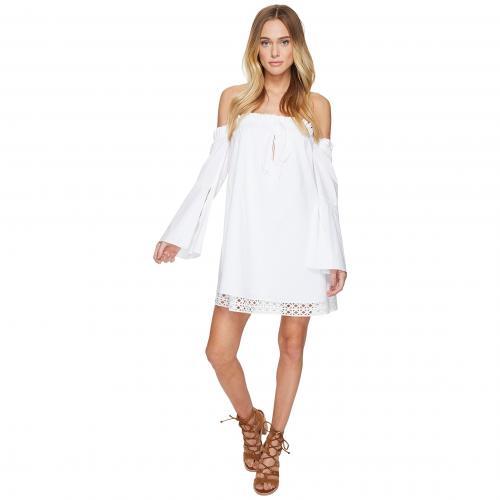 ドルチェ ヴィータ ドレス ワンピース 白 ホワイト レディース 女性用 レディースファッション 【 DOLCE VITA DELAINEY DRESS WHITE 】