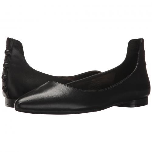 ナイン ウェスト オウル 黒 ブラック レザー レディース 女性用 レディース靴 カジュアルシューズ 靴 【 BLACK NINE WEST OWL LEATHER 】