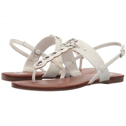 ゲス 白 ホワイト レディース 女性用 ミュール レディース靴 靴 【 G BY GUESS LELE WHITE 】
