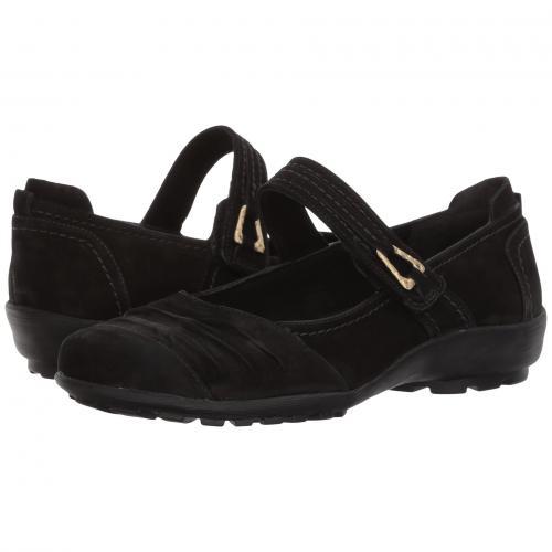 ウォーキング 黒 ブラック レディース 女性用 レディース靴 靴 カジュアルシューズ 【 BLACK WALKING CRADLES HAYDEN ROUGHOUT 】