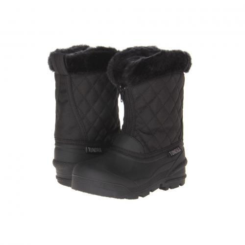 ブーツ 黒 ブラック 子供用 リトルキッズ ベビー マタニティ 靴 キッズ 【 BLACK TUNDRA BOOTS KIDS SNOWDRIFT 】
