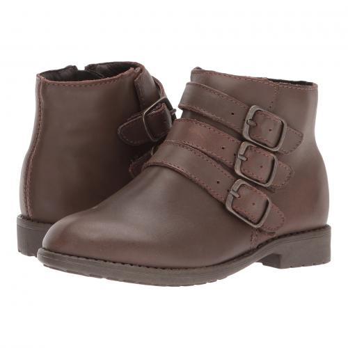 オールドベリー バックル アップ 茶 ブラウン 子供用 リトルキッズ 靴 キッズ ブーツ ベビー マタニティ 【 OLD SOLES BUCKLE UP TODDLER DISTRESSED BROWN 】