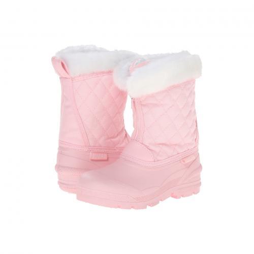ブーツ 子供用 リトルキッズ ベビー キッズ 靴 マタニティ 【 TUNDRA BOOTS KIDS SNOWDRIFT PINK WHITE 】