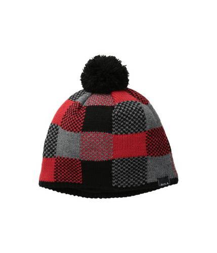 kids check beanie (big kid) チェック 帽子 キャップ マタニティ ベビー キッズ ニット帽