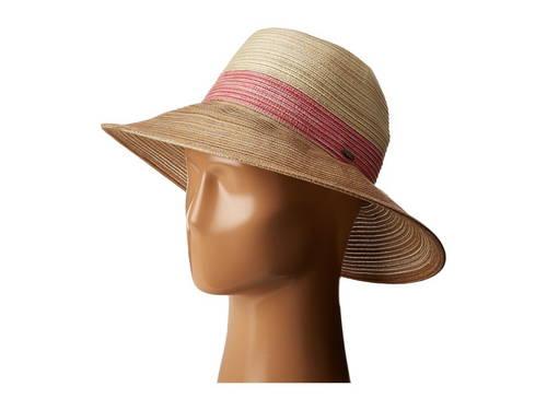ポリ サファリ メンズ 男性用 バッグ 帽子 【 SCALA TRITONE POLY BRAID SAFARI FUCHSIA 】