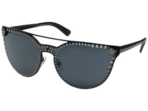 ヴェルサーチ ベルサーチ マット レディース 女性用 眼鏡 サングラス 【 VERSACE VE2177 MATTE BLACK GREY 】