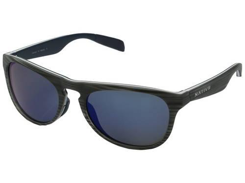 ネイティブ アイウェア リフレックス メンズ 男性用 眼鏡 サングラス 【 NATIVE EYEWEAR SANITAS DRIFTWOOD WHITE BLUE REFLEX 】