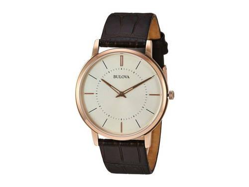 クラシック ゴールド 金 レディース 女性用 腕時計 レディース腕時計 【 BULOVA CLASSIC 97A126 CREAM ROSE GOLD 】