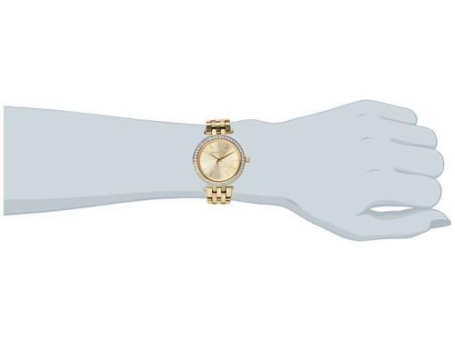 マイケル コース ミニ ゴールド 金 トーン レディース 女性用 レディース腕時計 腕時計 【 MICHAEL KORS MK3365 MINI DARCI GOLD TONE 】