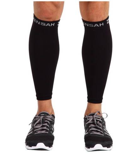 コンプレッション レッグ スリーブ 黒 ブラック メンズ 男性用 ウェア 【 BLACK ZENSAH COMPRESSION LEG SLEEVES 】