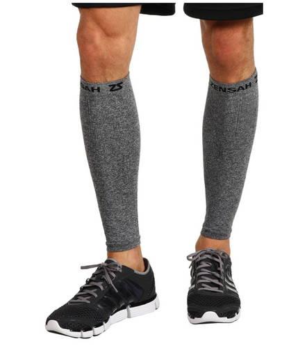 コンプレッション レッグ スリーブ ヘザー GRAY灰色 グレイ メンズ 男性用 ウェア 【 HEATHER GREY ZENSAH COMPRESSION LEG SLEEVES 】