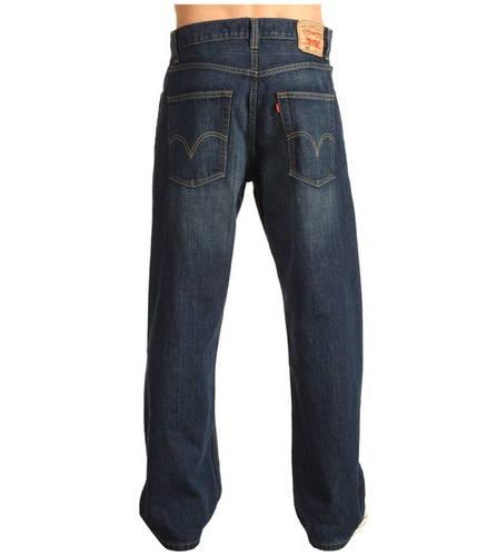 メンズ 男性用 ルーズ ストレート フィット ダーク LEVI'S 569 パンツ メンズファッション 【 MENS LOOSE STRAIGHT FIT DARK CHIPPED 】