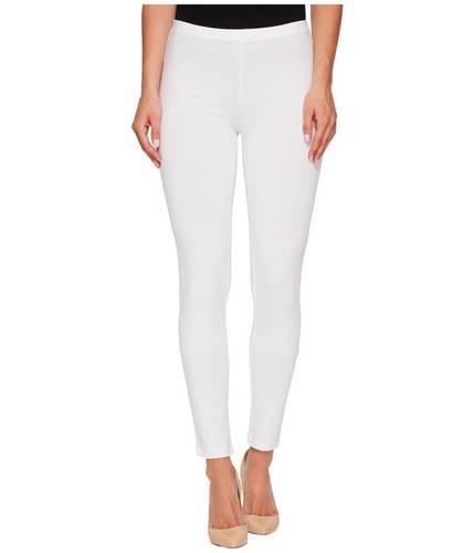 コットン レギンス 白 ホワイト レディース 女性用 レディースファッション ボトムス 【 HUE COTTON LEGGING WHITE 】