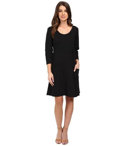 フレッシュ プロデュース ドレス ワンピース 黒 ブラック レディース 女性用 レディースファッション 【 BLACK FRESH PRODUCE DALIA DRESS 】