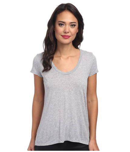 ニュー ベーシック Tシャツ GRAY灰色 グレイ レディース 女性用 トップス 【 GREY SPLENDID NEW BASIC TEE 】