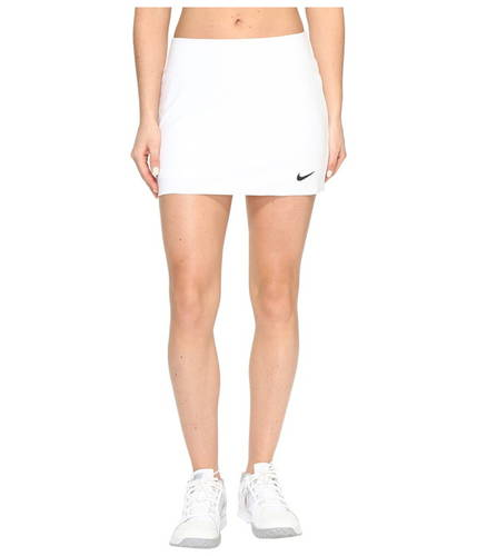 ナイキ カウント パワー テニス スカート レディース 女性用 ボトムス 【 NIKE POWER COURT SPIN TENNIS SKIRT WHITE BLACK 】